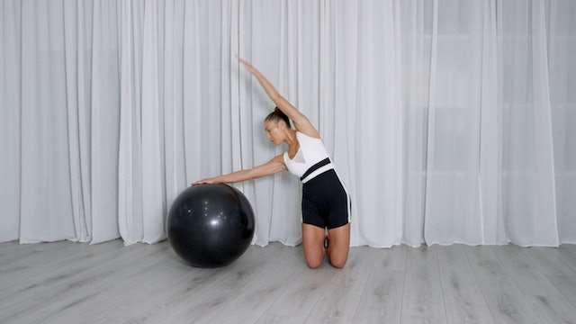 SHANNON - 10 MINUTE STABILITY BALL