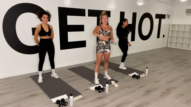 DAY 1 - OCTOBER 4TH - HIIT WITH ALEXIS