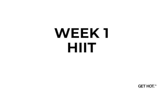 WEEK 1 - HIIT