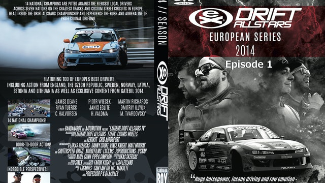 Drift Allstars - European Series 2014