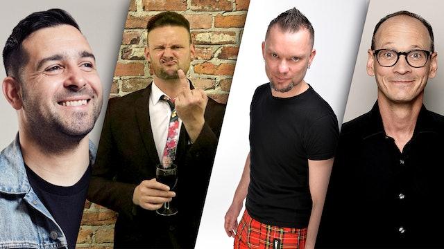 Danny McLoughlin, Eddie Fortune, Sully O'Sullivan & Steve Royle