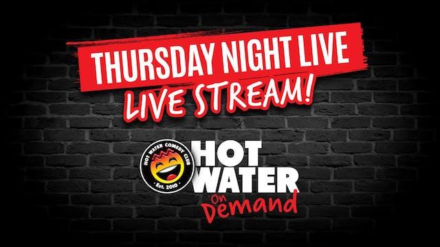 Thursday Night LIVE! 7pm 2nd September