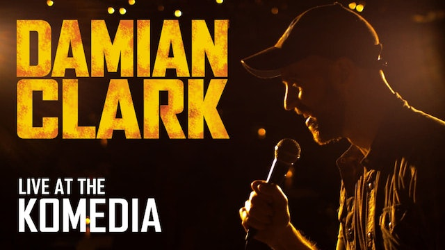 DAMIAN CLARK Live at the KOMEDIA