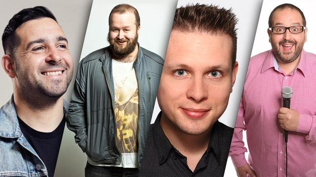 Danny Mcloughlin, Freddy Quinne, Phil Chapman & Justin Moorhouse