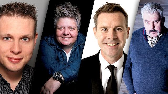 Phil Chapman, Susie McCabe, Jamie Sutherland & Mick Ferry