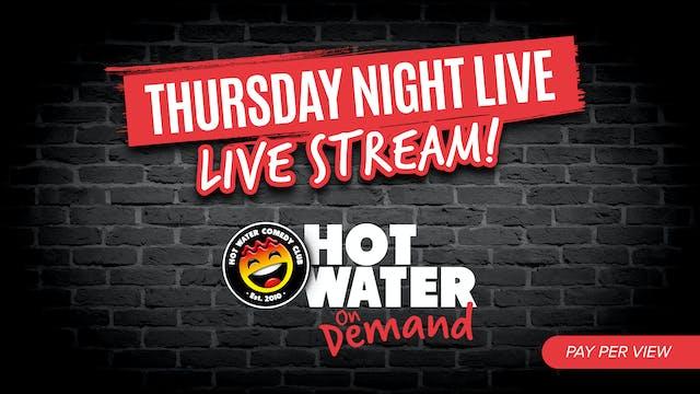 Thursday Night LIVE! - 21st Oct - 7pm