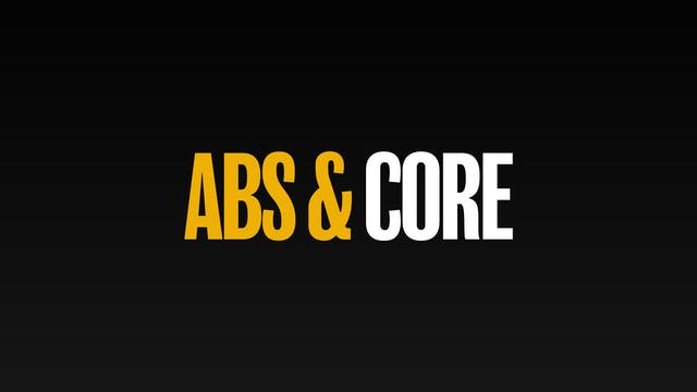 Abs & Core 💥