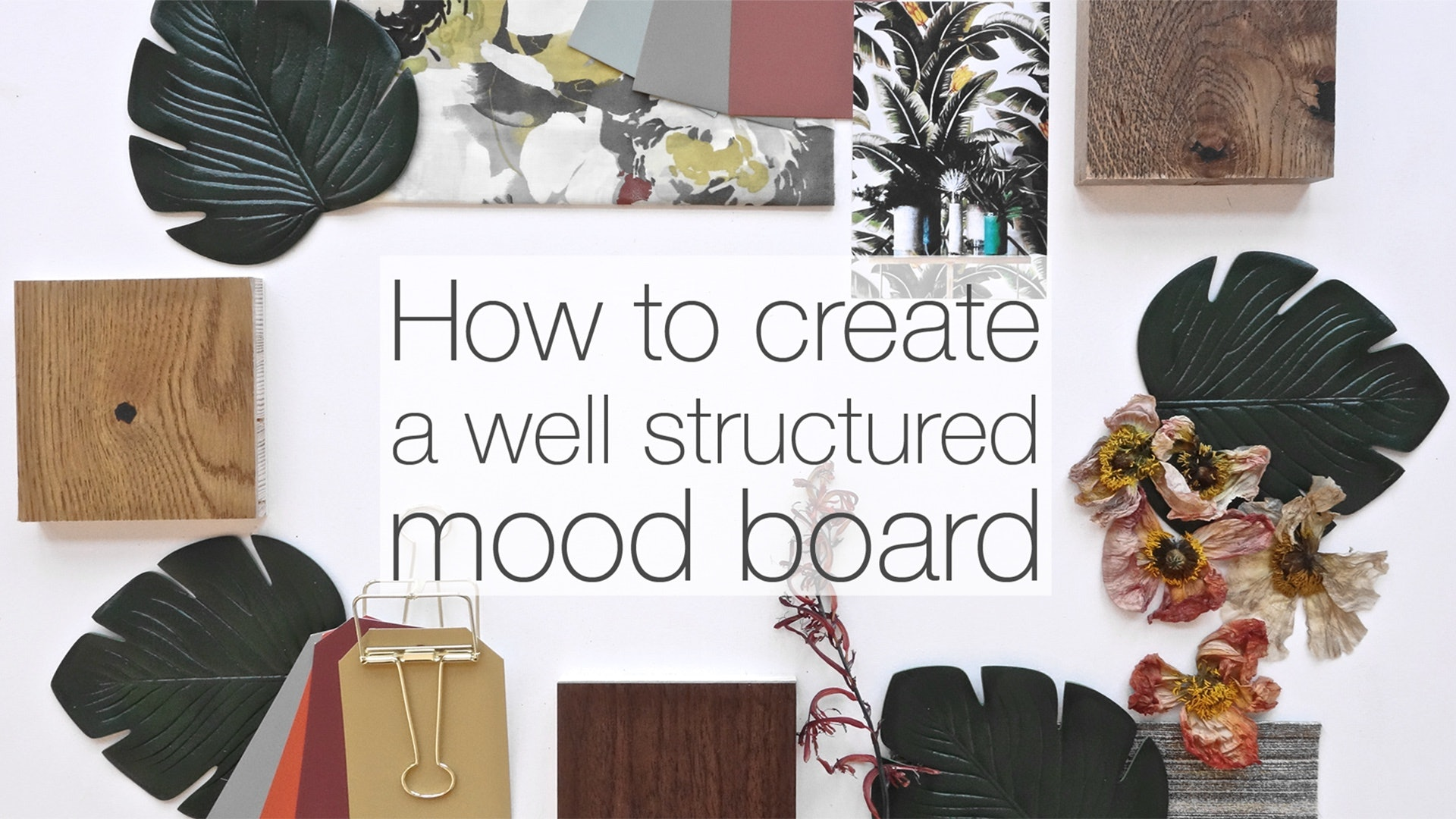 How to create a well structured mood board for How to start building a house