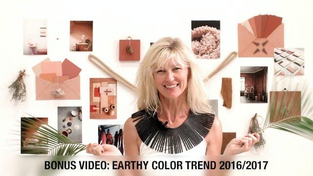 20 BONUS - Earthy Color Trend 2016 - 17