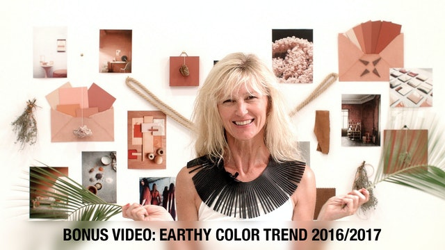 20 BONUS - Earthy Color Trend 2016 - 17