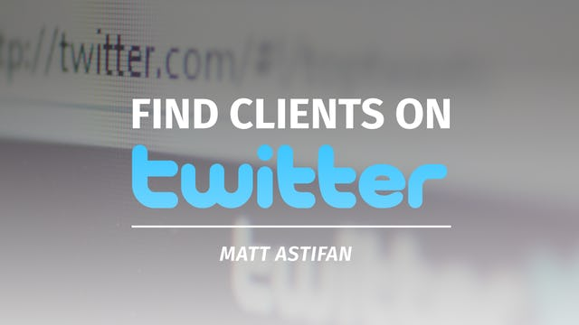 Find Clients on Twitter
