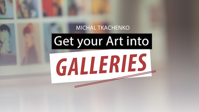 Get your Art into galleries