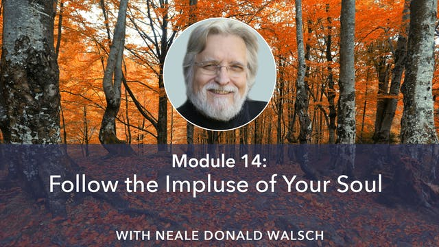14: Follow the Impulse of Your Soul w...
