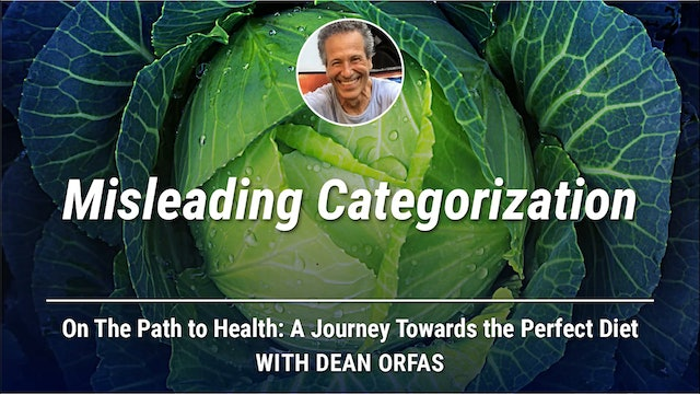 On The Path to Health - Misleading Categorizations