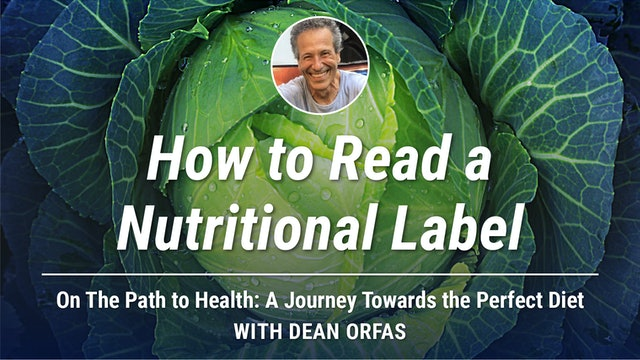 On The Path to Health - How to Read a Nutritional Label