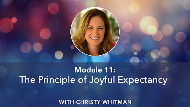 Christy Whitman Module 11