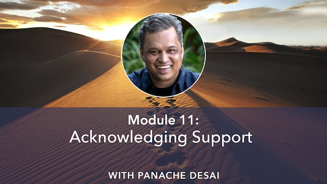 11: Acknowledging Support with Panache Desai
