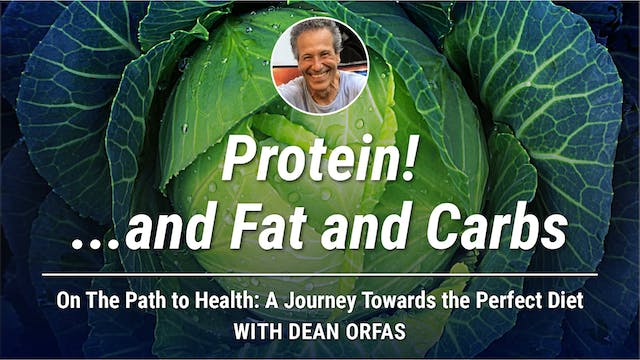 On The Path to Health - Protein!..and...