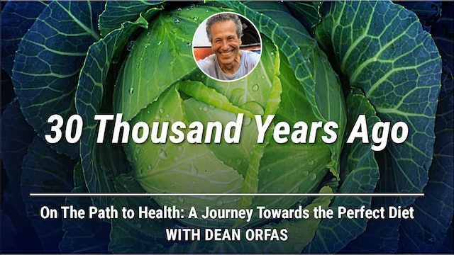 On The Path to Health - 30 Thousand Years Ago