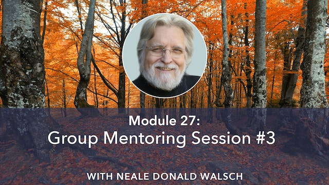 NDW Group Mentoring Session 3