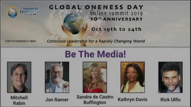 12: Global Oneness Day 2019 - Be The ...