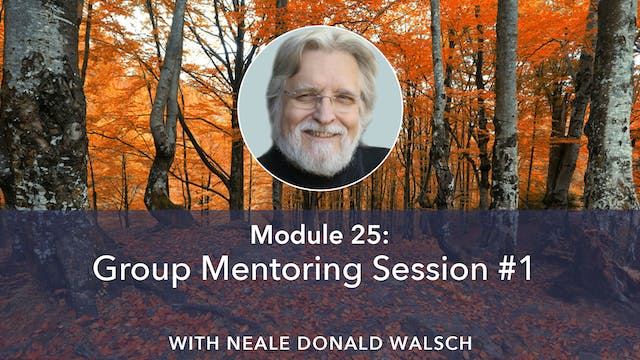 Group Mentoring Session 1 with Neale ...