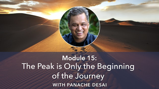 15: The Peak is Only the Beginning of the Journey with Panache Desai
