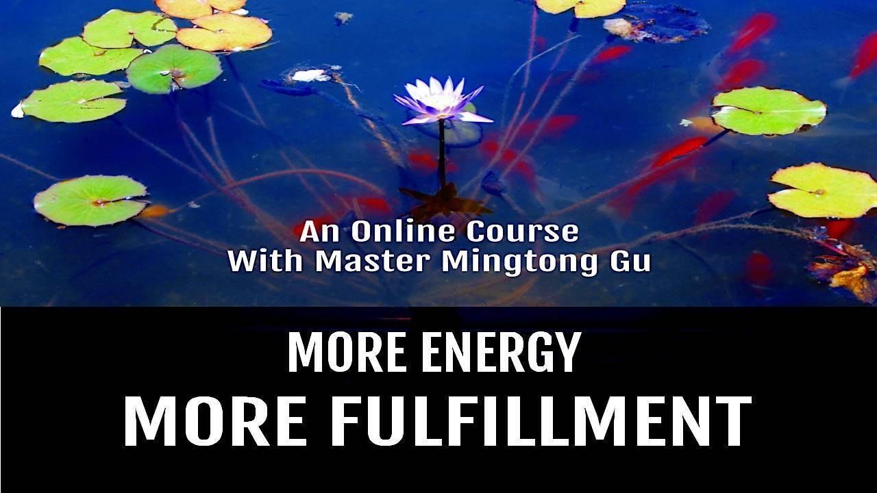 More Fulfillment - Master Mingtong Gu