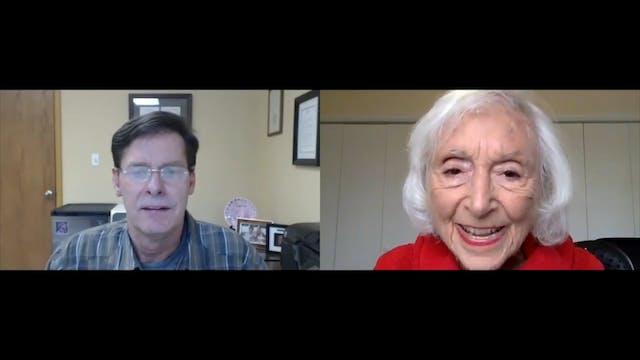 Barbara Marx Hubbard and Steve Farrel...