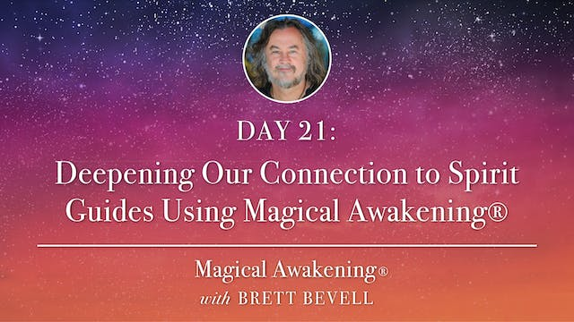 MA Day 21: Deepening Our Connection t...