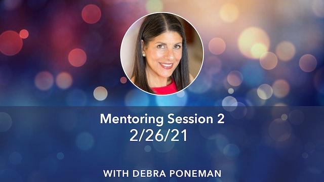 Debra's Mentoring for 'New Kind of Power' 2-26-21