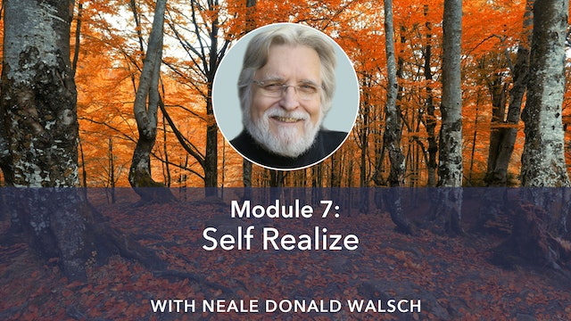 7: Self Realize with Neale Donald Walsch