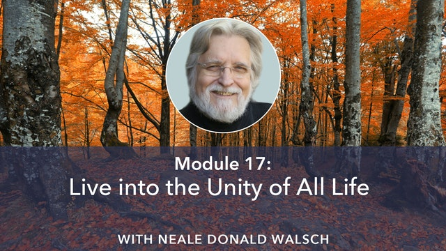 17: Live into the Unity of All Life with Neale Donald Walsch
