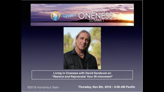 Living In Oneness with David Sandoval