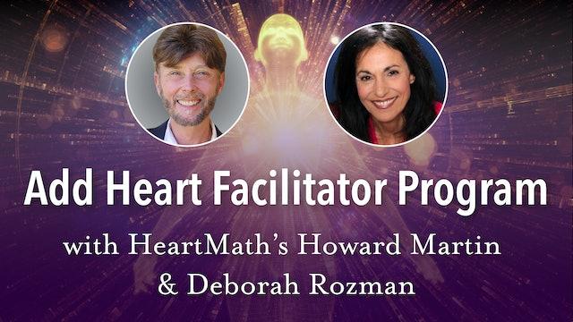 HeartMath - Add Heart Facilitator Program