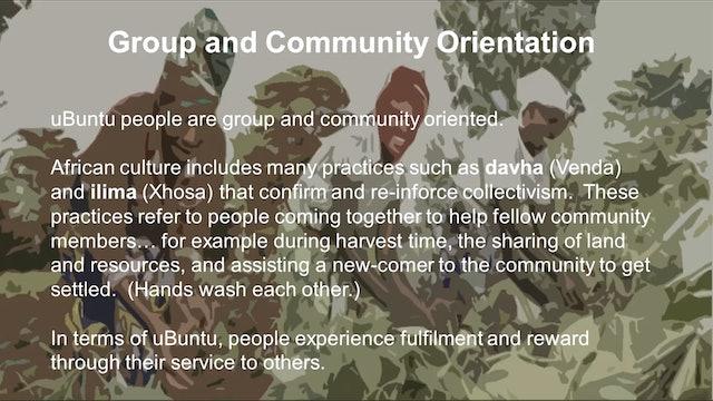 7: Cultural Expression of uBuntu with Anna-Mari Pieterse