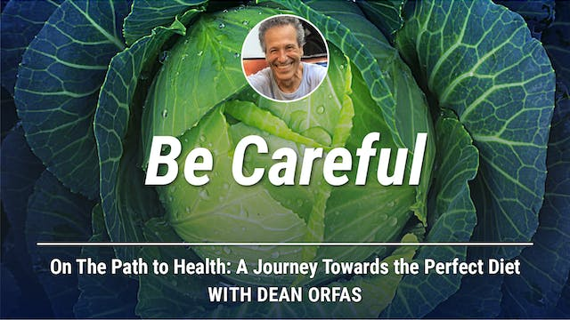 On The Path to Health - Be Careful