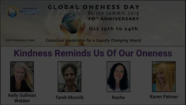 11: Global Oneness Day 2019 - Kindnes...
