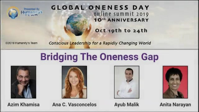 16: Global Oneness Day 2019 - Bridging the Oneness Gap