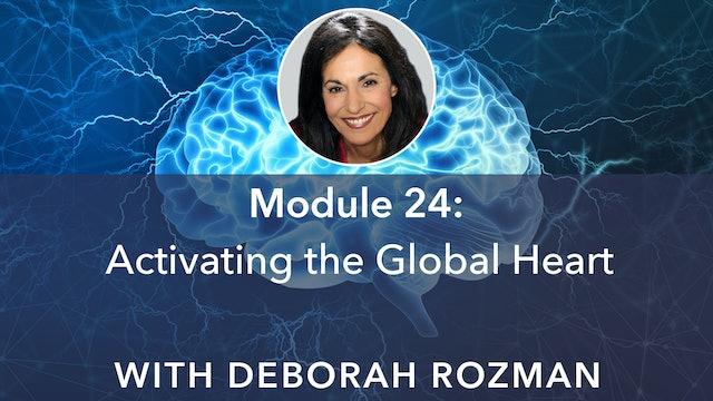 24: Activating the Global Heart with Deborah Rozman