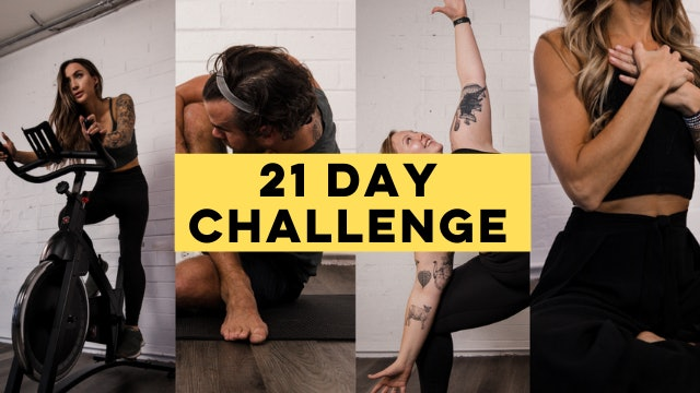 TAKE IT TO THE HOUSE: 21 DAY CHALLENGE