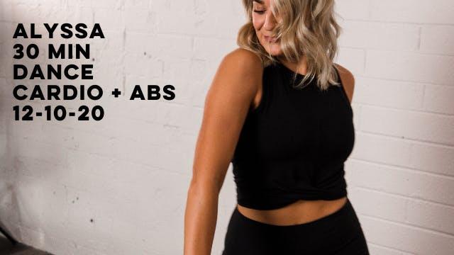 ALYSSA - 30 MIN DANCE CARDIO + ABS