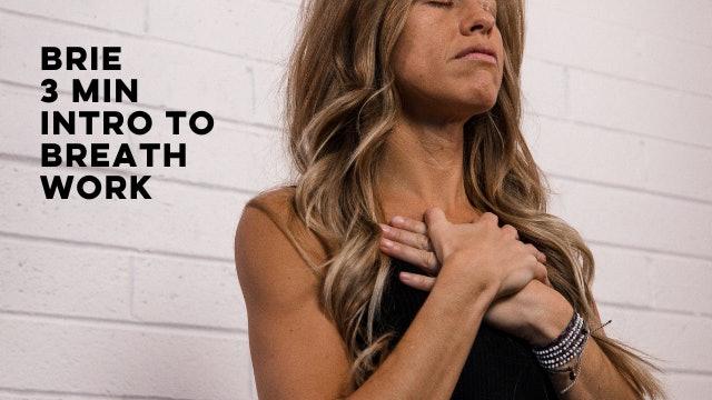 BRIE - INTRO TO BREATHWORK