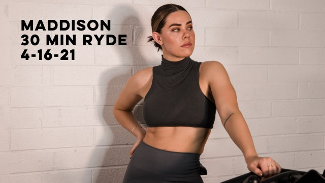 MADDISON - 30 MIN RYDE 4-16-21