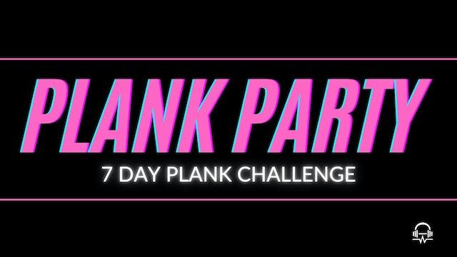 PLANK PARTY CALENDAR