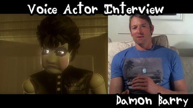Damon Barry: Voice actor interview