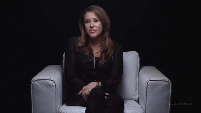 Esther Fleece  - White Chair Film - I Am Second