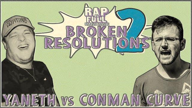 Yaneth vs Conman Curve