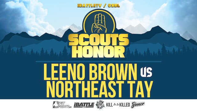 Northeast Tay vs Leeno Brown