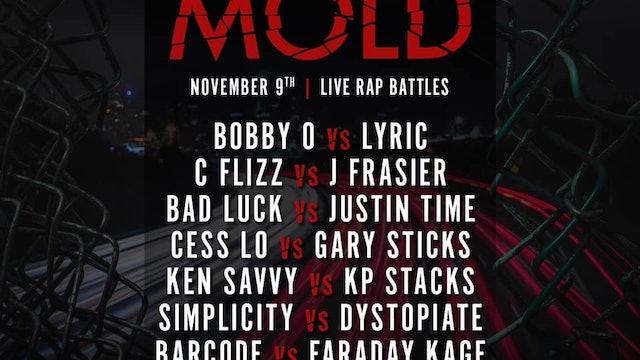 BREAK THE MOLD  - Saturday 11/9 - Next-Day VOD